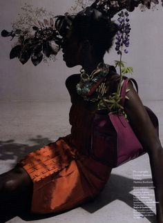 Kinee Douf by Viviane Sassen - SA look from another perspective