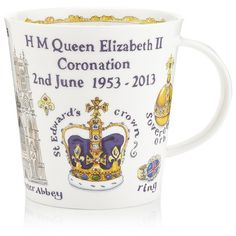 Dunoon Coronation Cairngorm Mug ($39) ❤ liked on Polyvore