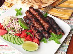 Seekh Kebabs (Pakistani Spicy Grilled Ground Meat Skewers)