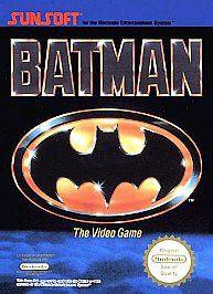 Batman The Video Game Original Nintendo Game Boy 1990 Action Adventure