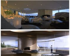 Malibu Tony Stark Home Living Room