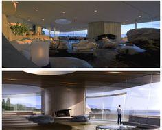 Malibu Tony Stark Home Living Room