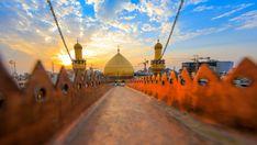 HOLY shrine of imam ali as