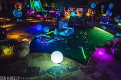 glow in dark 40th birthday party ideas - Google Search