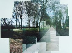 David Hockney Photo Montage - May 2010 Montage Photography, A Level Photography, Photography Projects, Digital Photography, Landscape Photography, Art Photography, Photomontage, David Hockney Collage, David Hockney Joiners