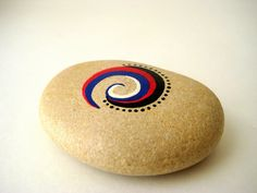 Painted Stones Pebbles Original Hand Painted by MalenaValcarcel