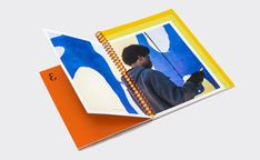 Hall Family Foundation Annual Report—Inspiring Growth on Behance