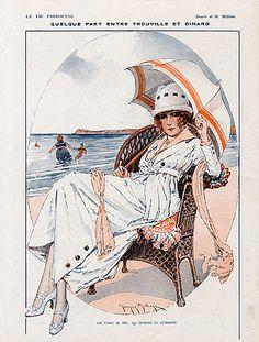 Maurice Millière (1871–1946). La Vie Parisienne, 1918. [Pinned 9-iv-2015]