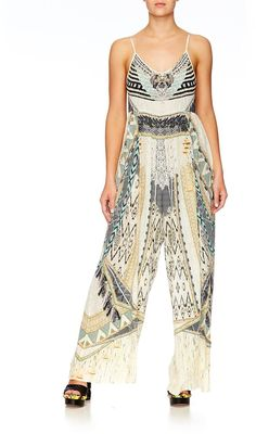 52d58bd5626 Camilla Weave On Gathered Wide Leg Jumpsuit find it and other fashion  trends. Online shopping for Camilla clothing.
