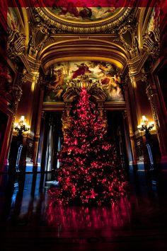 Christmas in Opera Garnier, Paris, France