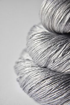 dye for yarn - light steel:  silk lace yarn