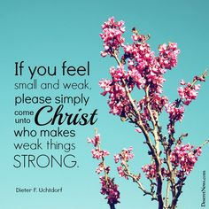 President Dieter F. Uchtdorf   LDS General Conference #ldsconf #lds #quotes