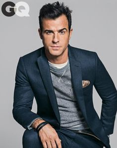 Justin Theroux in @gq Magazine