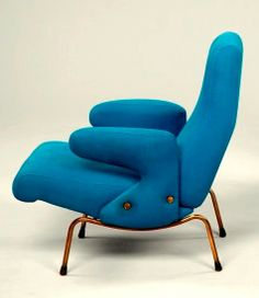 Erberto Carboni for Arflex - 'Dolphin' chairs, 1960s