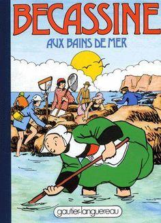 Pinchon Becassine AUX Bains DE MER ED Gauthier Languereau 1992