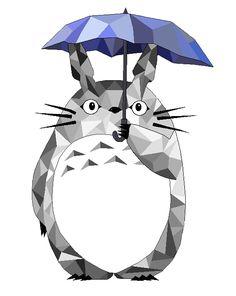 Totoro by Lipatatorne