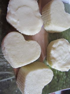 handgemachte Salzseife (erste Versuche) Honeydew, Body Care, Dairy, Healing, Cheese, Fruit, Food, Meal, Honeydew Melon