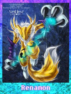 Digimon: Renamon by *Juctoo on deviantART
