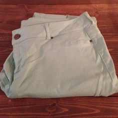 Mint Maurices Jegging Mint Maurice's Jegging. Size XL-R. Maurices Jeans Skinny
