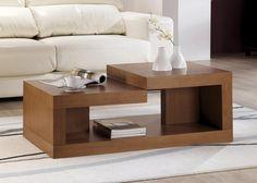 Rectangular coffee table for LR