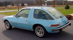 """AMC PACER X. Yep I owned one just like this less the roof rack. I still have the California """"Pacer X"""" vanity plate. My X just had to have the piece of crap. LOL ...FW"""