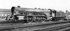 46202 Princess Anne, one of the two scrapped casualties of the Harrow and Wealdstone disaster in 1952.