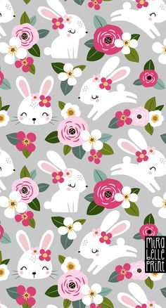 Buy custom print on demand fabric from our online collection. Or, upload your own design for a truly one-of-kind print. Easter Backgrounds, Cute Wallpaper Backgrounds, Wallpaper Iphone Cute, Pretty Wallpapers, Cellphone Wallpaper, Iphone Wallpaper, Easter Wallpaper, Spring Wallpaper, Scrapbook Patterns