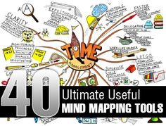 Great list of mind mapping tools each with a screenshot and a description.