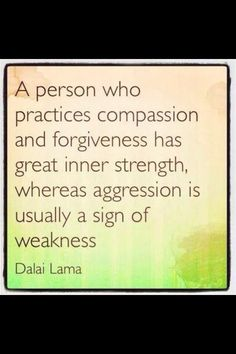 Forgiveness...I know one person who needs to do this.
