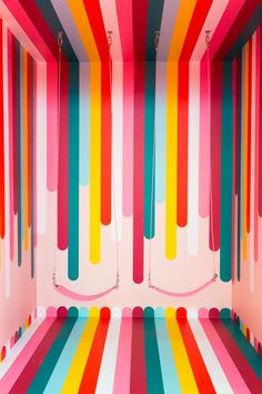 museum of ice cream Boutique Interior, Wall Colors, Colours, House Colors, Fred Instagram, Ice Cream Museum, Do It Yourself Design, Inspiration Wall, Mural Art