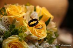 Groom's wooden wedding ring.  Lightweight and unusual.  See more wedding inspiration at: www.kristingriffinphotography.com