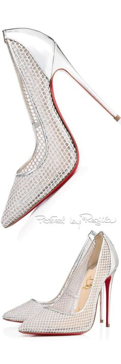 Christian Louboutin OFF! Regilla ⚜ Una Fiorentina in California Fab Shoes, Pretty Shoes, Beautiful Shoes, Cute Shoes, Me Too Shoes, Shoes Style, Stilettos, Pumps, High Heels