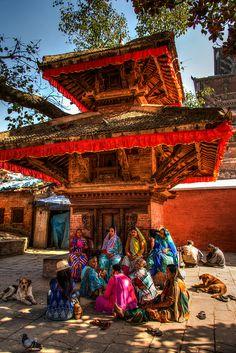 Kathmandu, Nepal temple