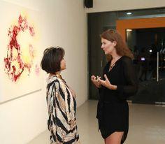 Artist Rikke Darling. Solo exhibition at Galeri Canna, Jakarta, Indonesia. 2014 www.rikkedarling.com  #artistrikkedarling #canna #galeri #painting #acrylic #artwork #art #artist #gallery #artgallery #rikkedarling #jakarta #Indonesia #butterfly #galericanna #opening