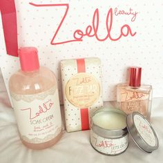We are in LOVE with #ZoellaBeauty! Shop all things #Zoella here: http://www.feelunique.com/brands/zoella-beauty