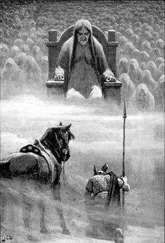 Hermod_before_Hela.jpg (1859×2744)Nella mitologia norrena, Hel o Hella (tradotto a volte come Nascosto altre volte come Morte) è la dea degli Inferi, figlia di Loki, dio dell'inganno, e di Angrboða, una gigantessa.