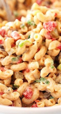 The Best Ever Creamy Macaroni Salad