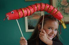 DIY : fabriquez un majestueux dragon rouge pour le Nouvel An chinois - Des idées