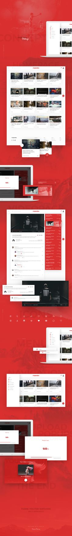 """Check out my @Behance project: """"Redesign Concept 
