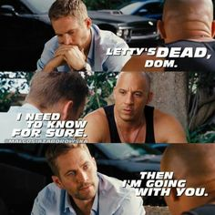 Fast and furious 6 Furious Movie, The Furious, Fast And Furious Memes, Game Of Thrones, Dom And Letty, 2017 Acura Nsx, Dominic Toretto, Rip Paul Walker, Movies