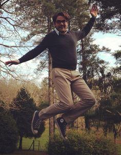 Ce sont deux basques bondissants en vacances : on commence avec Guillaume qui envoie ses Converse en l'air !  #artofthejump #jump