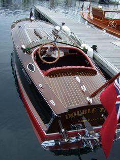 Antique boat show at Bay Harbor