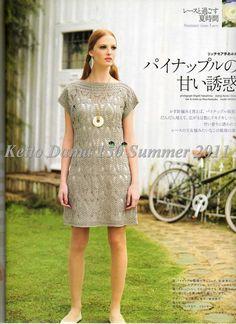 Zélia Crochet: Vestido de verão!