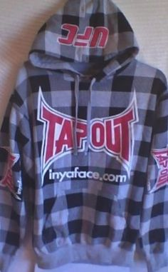 TAP-OUT-Checkered-hoodie-UFC