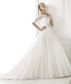 Wishesbridal A Line Wedding Dress