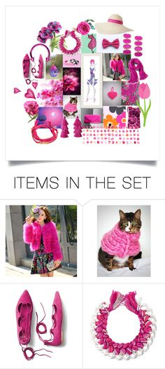 """""""Spring Fuchsia"""" by crystalglowdesign ❤ liked on Polyvore featuring art"""