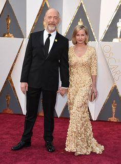 J.K. Simmons z żoną Michelle Schumacher