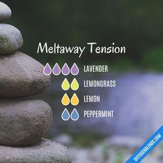 Meltaway Tension - Essential Oil Diffuser Blend