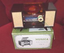 VINTAGE JAPANESE MUSICA LOVE STORY MUSIC JEWELLERY BOX NR MINT