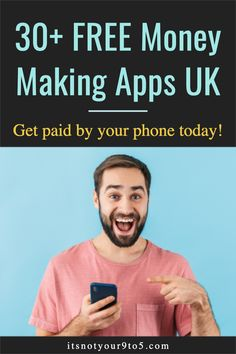 30+ best money making apps UK - these are Free Apps that pay you money UK. These best money making apps extra cash are researched, tried and tested to save you time and confusion. Earn extra cash with your phone with these free money making apps uk. Best Money Making Apps, Make Money Fast Online, Way To Make Money, How To Make, Earn Extra Cash, Making Extra Cash, Extra Money, Matched Betting, Apps That Pay You